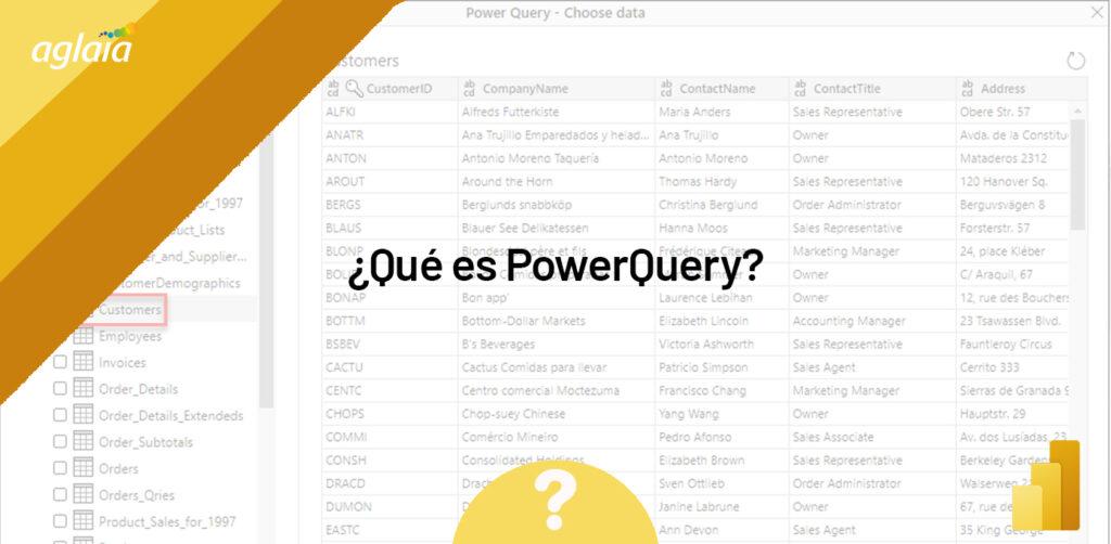 Qué es PowerQuery