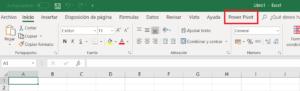 Ribbon Excel