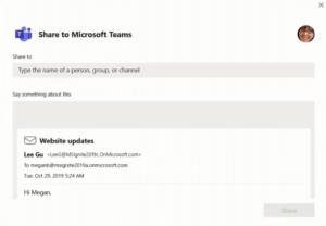 Microsoft Teams y Outlook