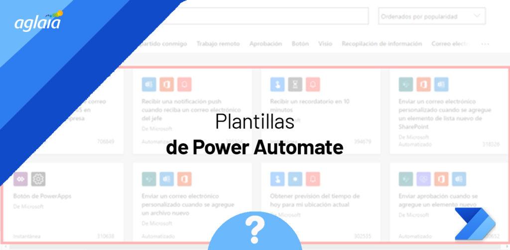 Plantillas de Power Automate