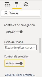 activar actualización mapa